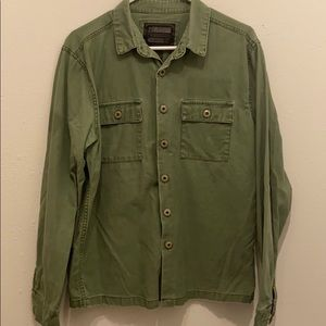 M - Military Style Button Down
